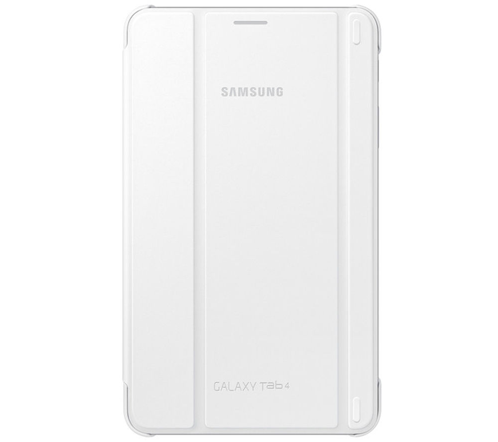 Samsung Galaxy Tab 8.0 Book Cover - White, White