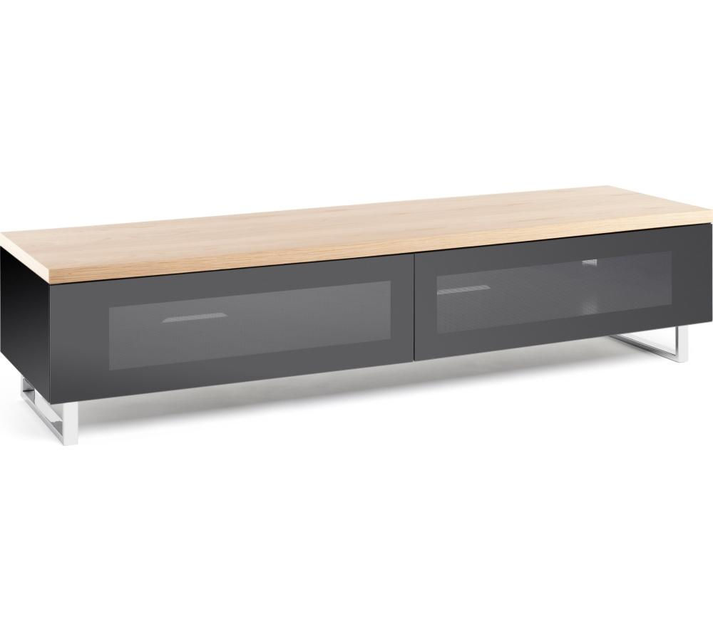 TECHLINK  Panorama PM160LO TV Stand Oak veneer
