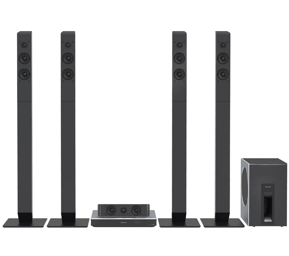 PANASONIC  SCBTT885EBS 5.1 Smart 3D Bluray & DVD Home Cinema System