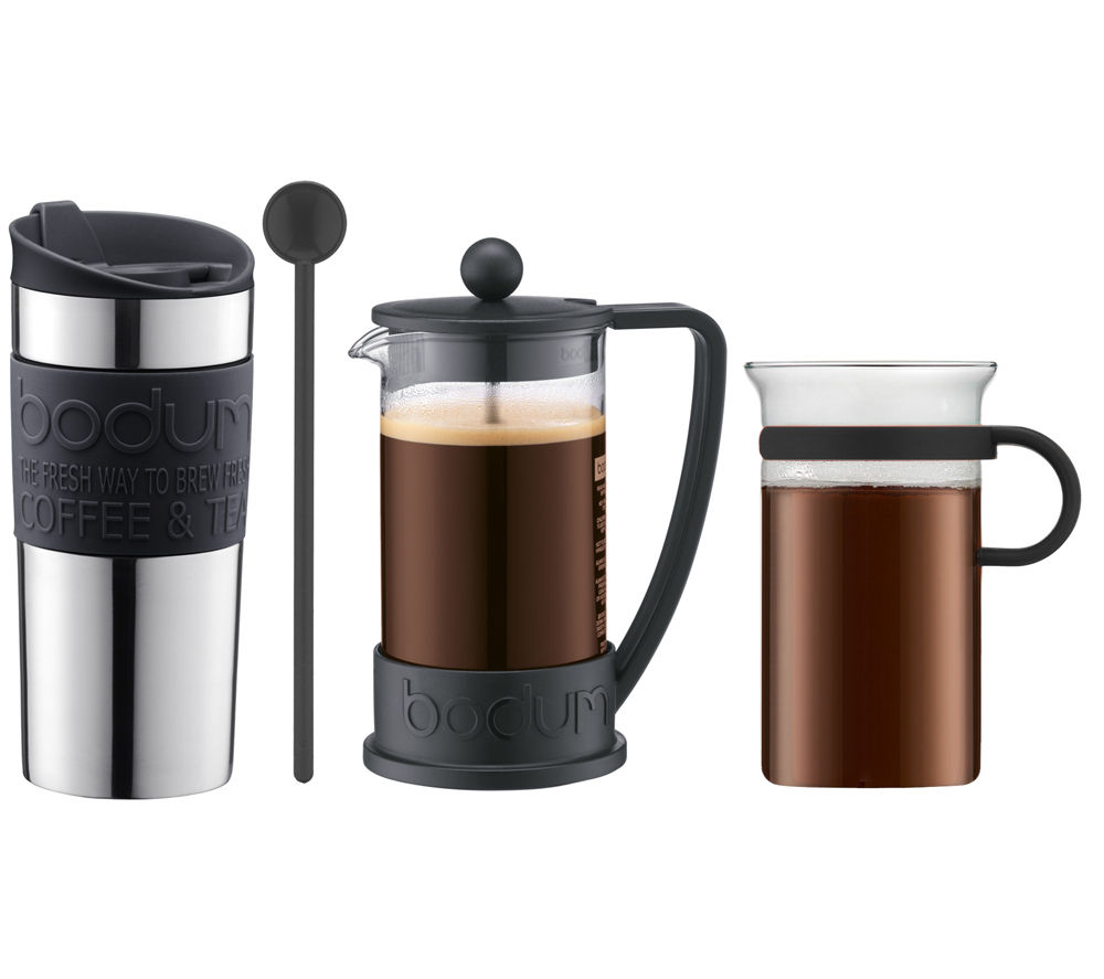 Buy bodum coffee gift set black free delivery currys