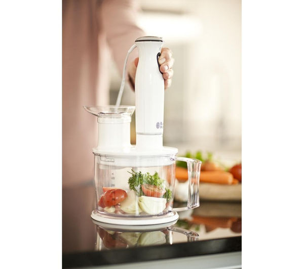 buy russell hobbs aura 6 in 1 21500 hand blender white black free delivery currys. Black Bedroom Furniture Sets. Home Design Ideas