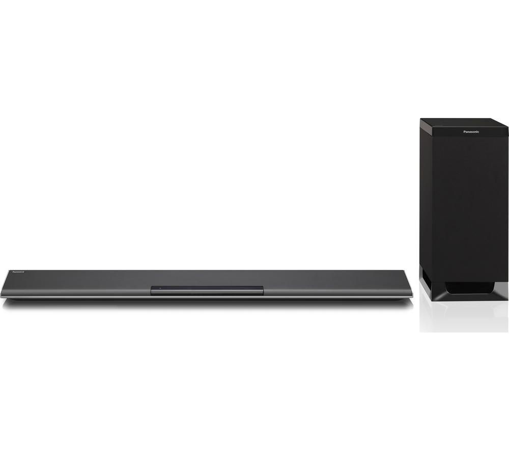 panasonic sc htb485ebk 2 1 wireless sound bar deals pc world. Black Bedroom Furniture Sets. Home Design Ideas