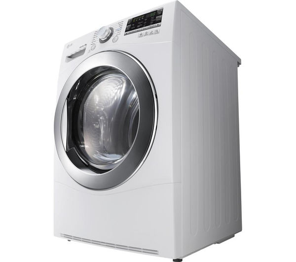 Lg Dryer Year Of Manufacture ~ Lg rc ah z heat pump condenser tumble dryer white