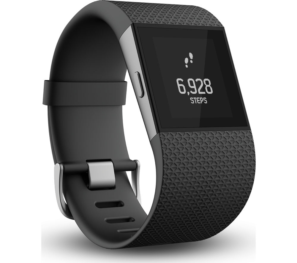 FITBIT Surge - Small, Black