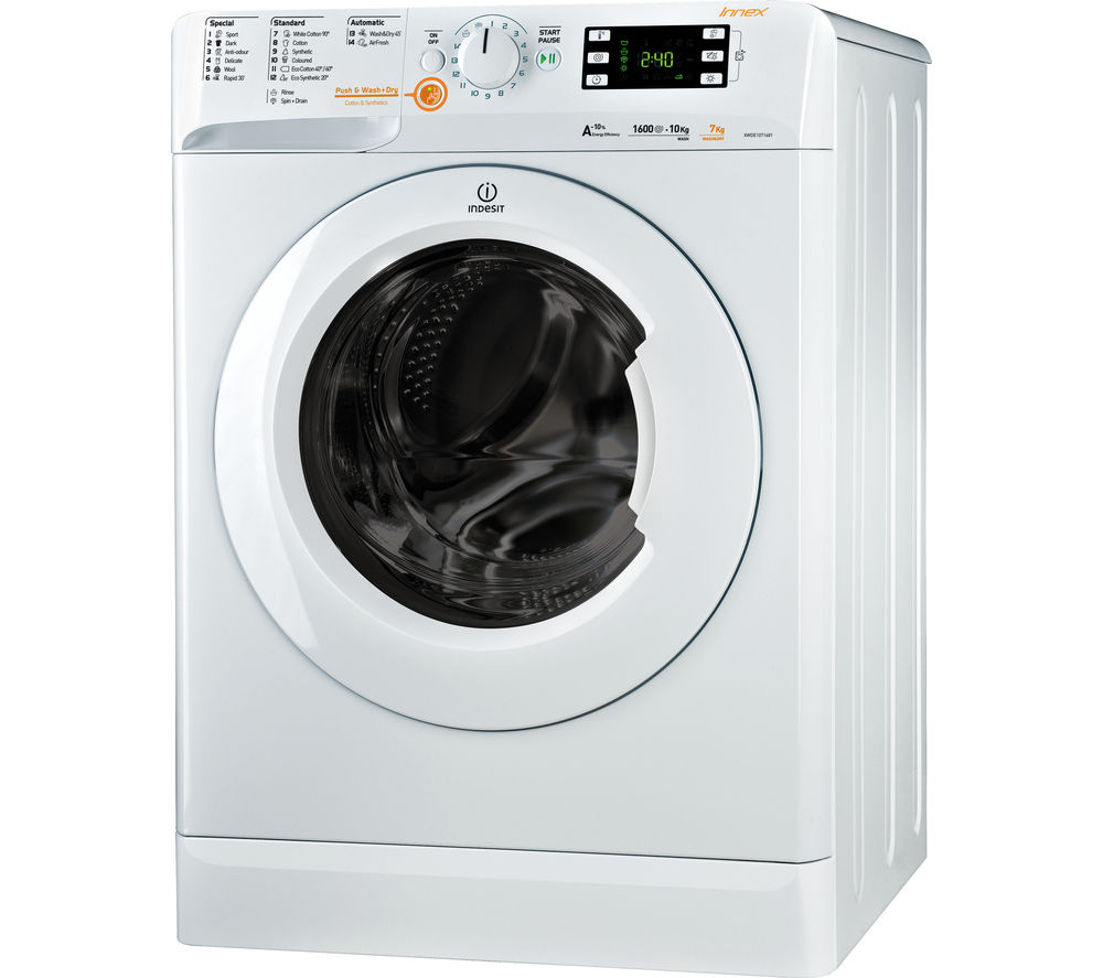 buy cheap indesit washer dryer compare washer dryers. Black Bedroom Furniture Sets. Home Design Ideas