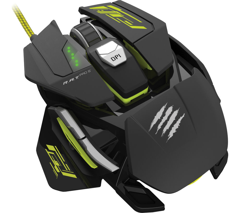 MAD CATZ R.A.T. Pro S Optical Gaming Mouse
