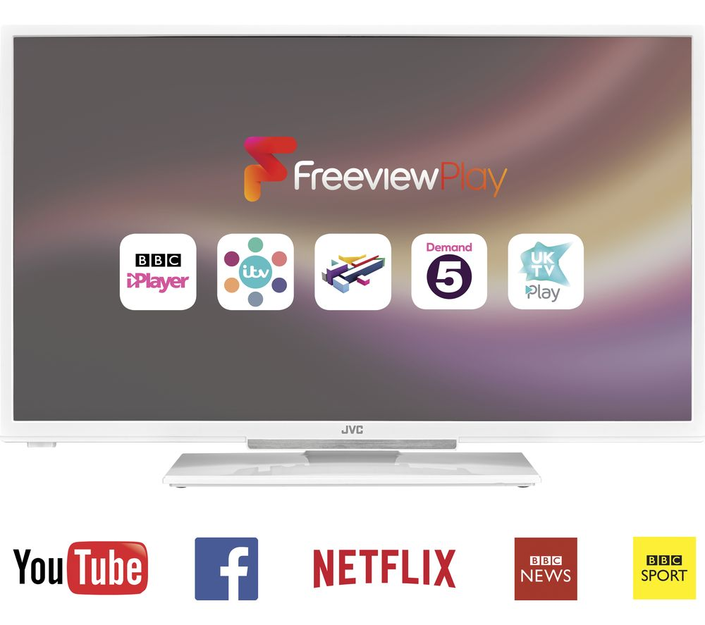 32 JVC  LT32C661 Smart  LED TV  White White