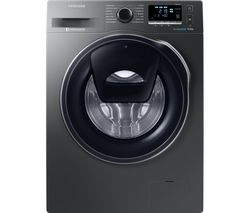 SAMSUNG AddWash WW90K6414QX/EU Washing Machine - Graphite