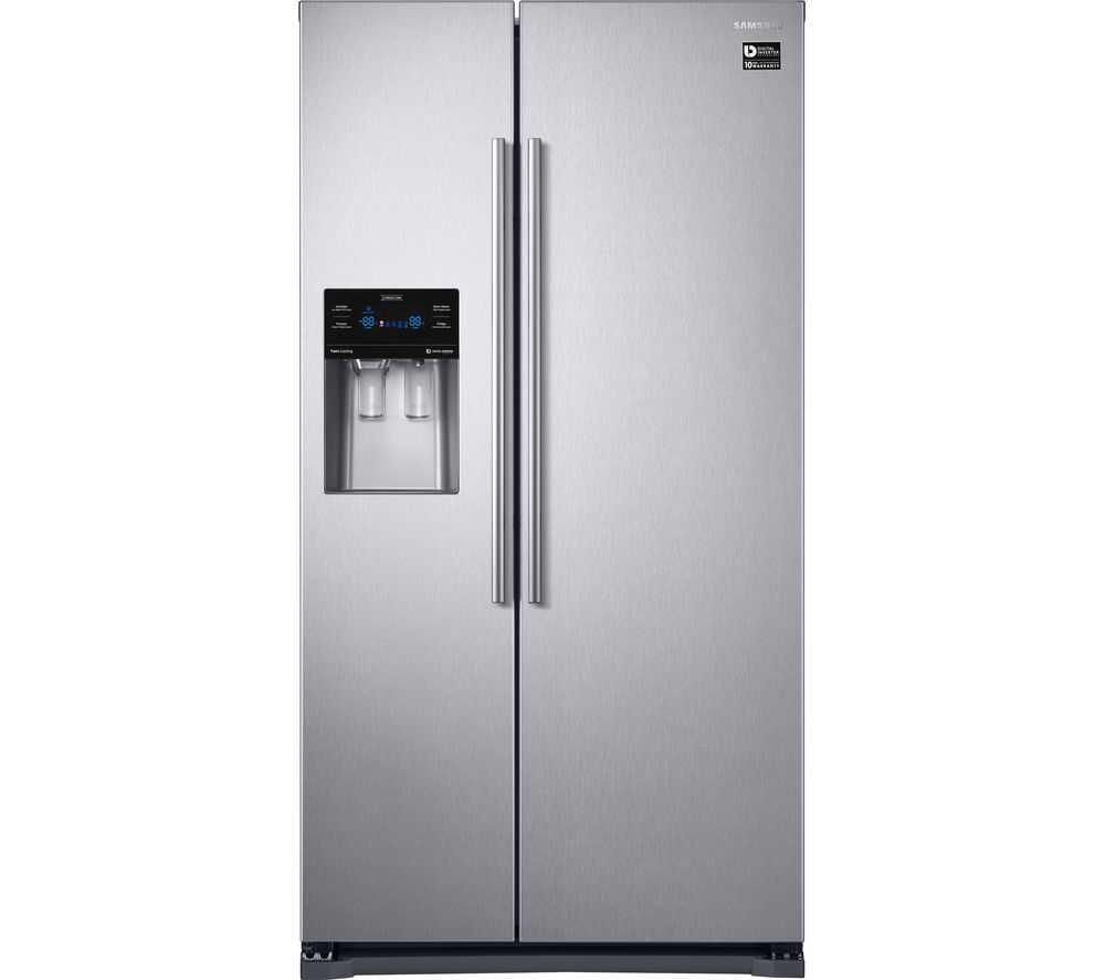 What Is An American Fridge Freezer Part - 33: SAMSUNG RS53K4400SA American-Style Fridge Freezer - Silver