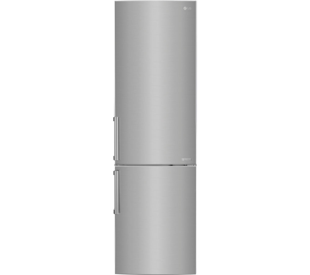 LG GBB60PZGFB 70/30 Fridge Freezer - Shine Steel