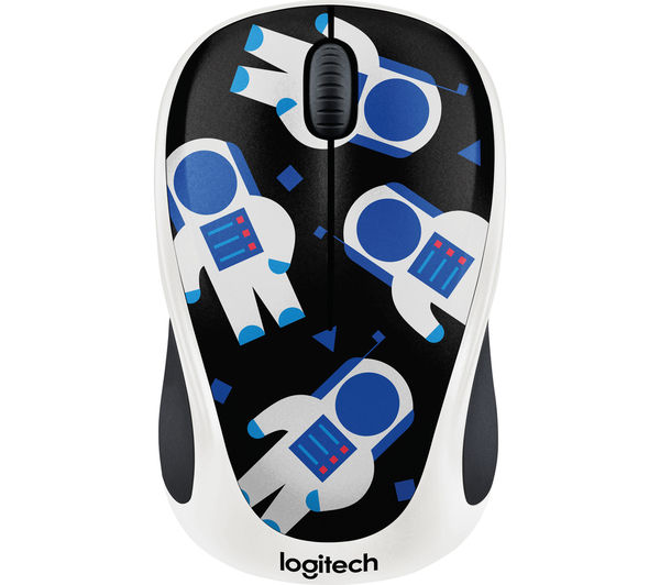 Image of LOGITECH Spaceman M238 Wireless Optical Touch Mouse - Black & White