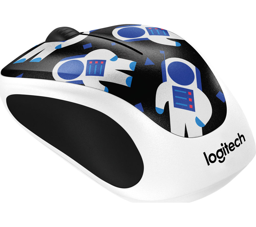 Image of Spaceman M238 Wireless Optical Touch Mouse - Black & White