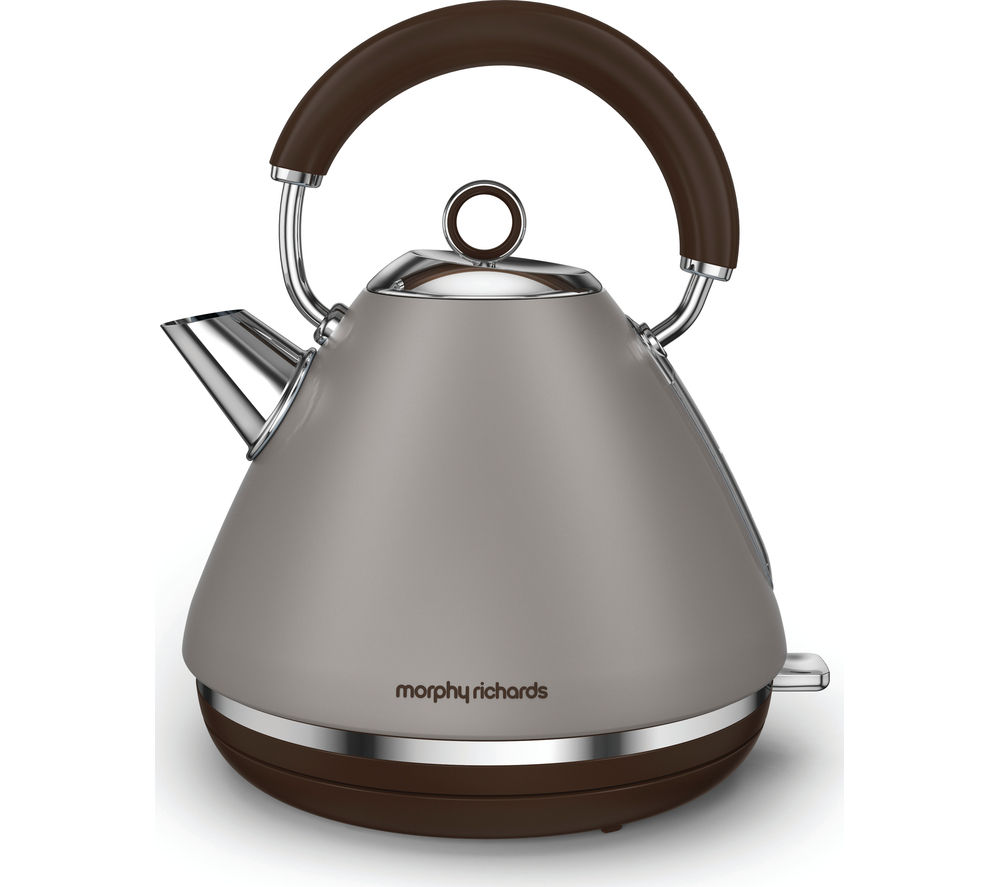 Morphy Richards Store: Buy MORPHY RICHARDS Accents 102102 Traditional Kettle - Pebble