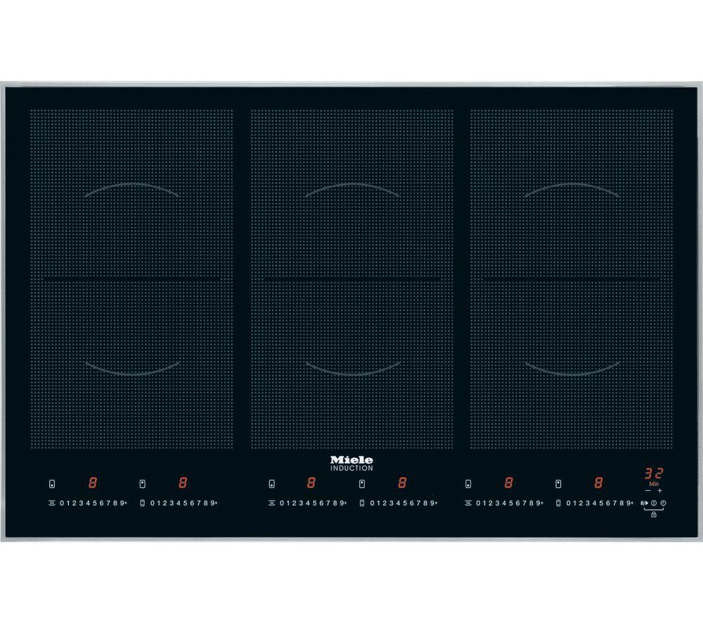 MIELE KM6366-1 Electric Induction Hob - Black