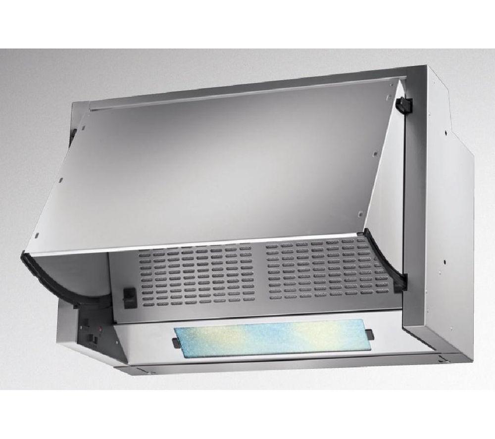 buy hoover hbp612 1gr integrated cooker hood grey free. Black Bedroom Furniture Sets. Home Design Ideas