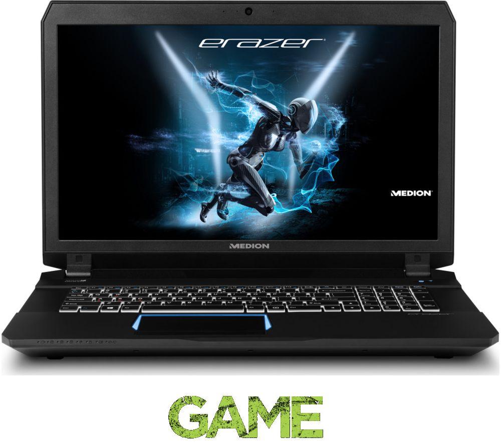"""MEDION X7843 17.3"""" Gaming Laptop - Black"""
