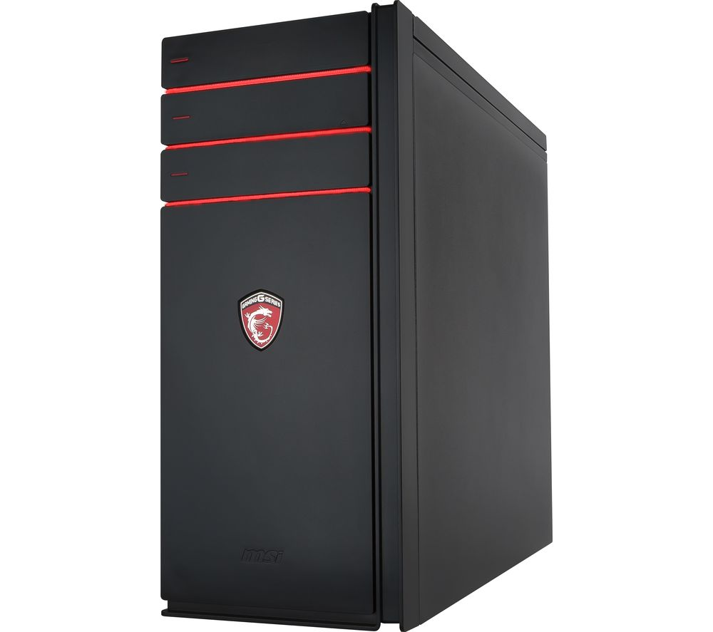 buy msi codex 005eu gaming pc free delivery currys. Black Bedroom Furniture Sets. Home Design Ideas
