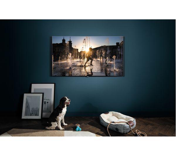 Samsung qe75q7fam 75 smart 4k ultra hd hdr qled tv deals pc world - Tv und mediamobel ...