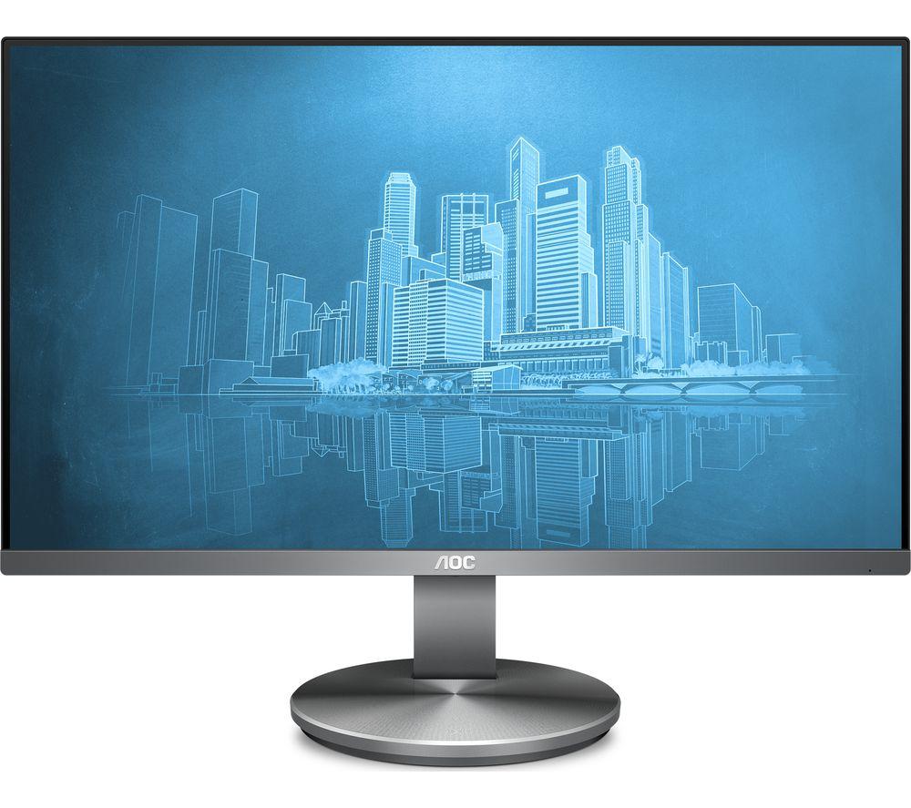 "AOC i2490vxq Full HD 23.8"" IPS LCD Monitor - Black"