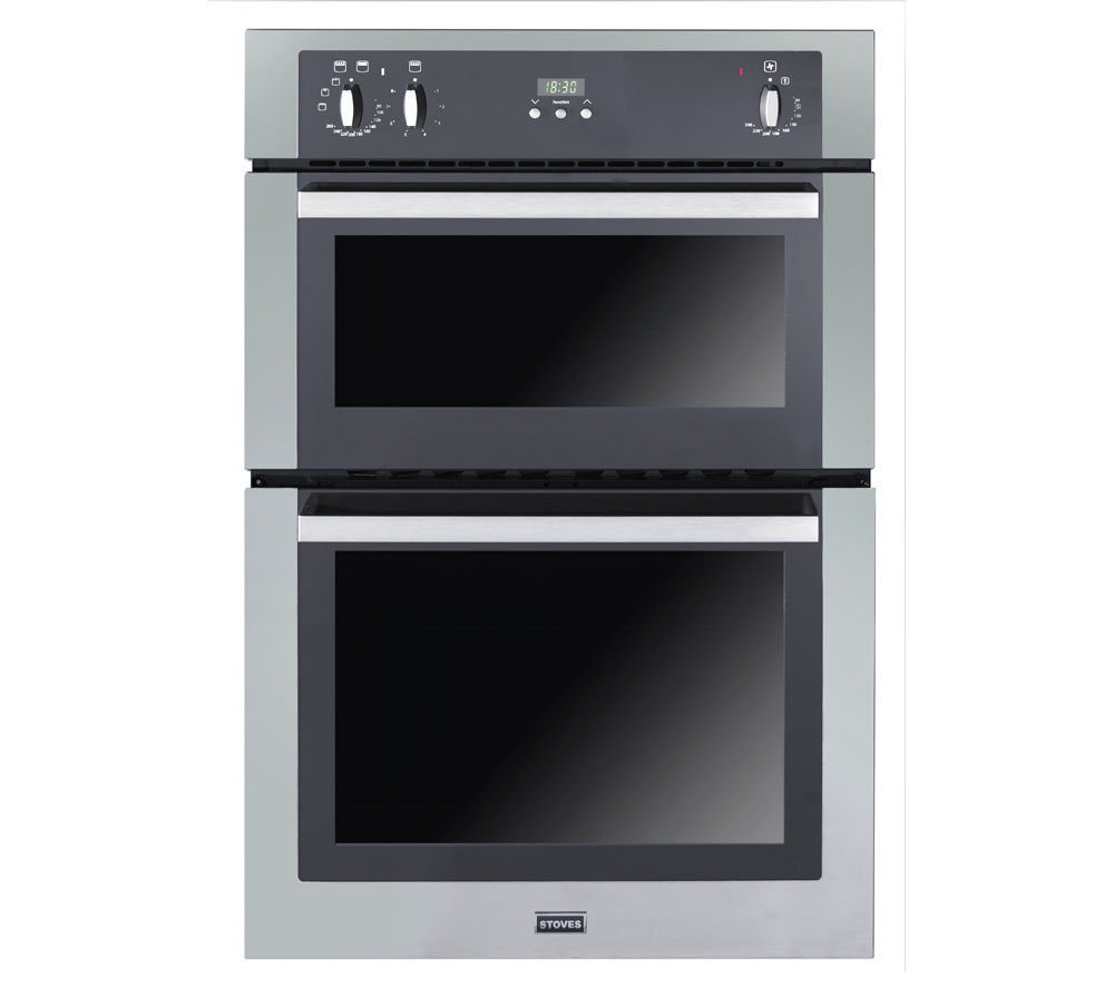 buy stoves seb900fps electric double oven stainless steel free delivery currys. Black Bedroom Furniture Sets. Home Design Ideas