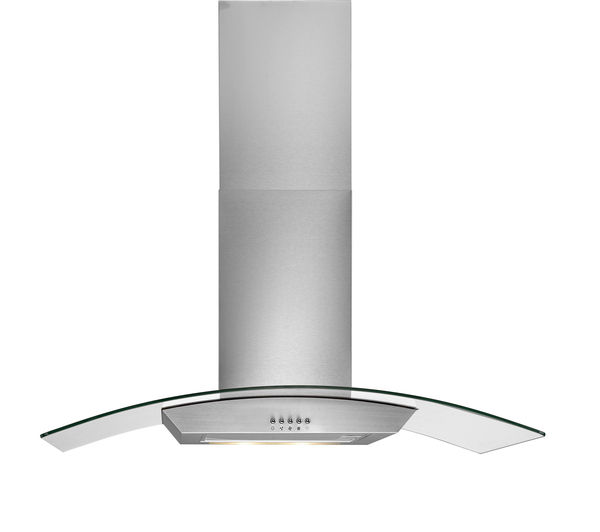 buy logik l90chdg14 chimney cooker hood stainless steel. Black Bedroom Furniture Sets. Home Design Ideas
