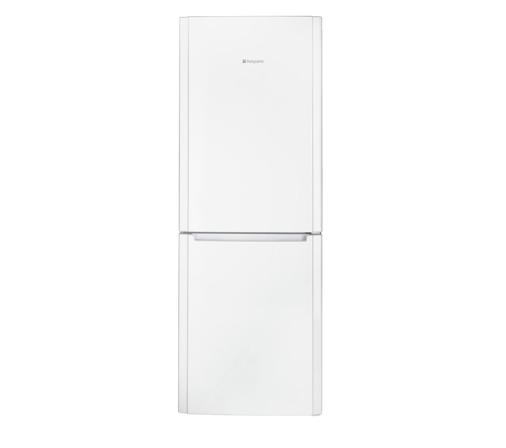 HOTPOINT FFUL1913P 65/35 Fridge Freezer - White + Aquarius TVM570P Vented Tumble Dryer - White