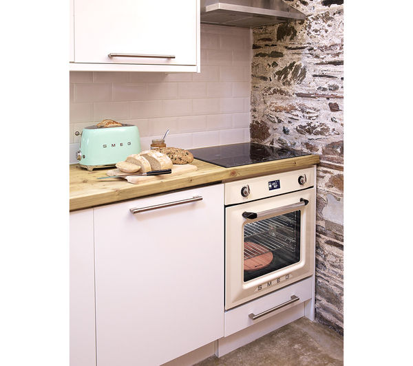Buy Smeg Tsf01pguk 2 Slice Toaster Pastel Green Free