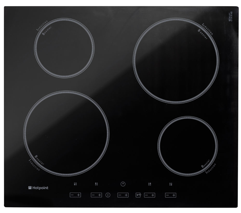 how to turn on induction hob
