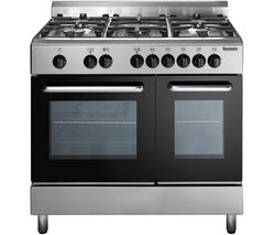 BAUMATIC BC392.2TCSS Dual Fuel Range Cooker - Stainless Steel