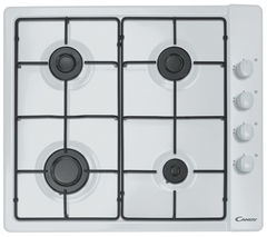 CANDY CLG64SPB Gas Hob - White