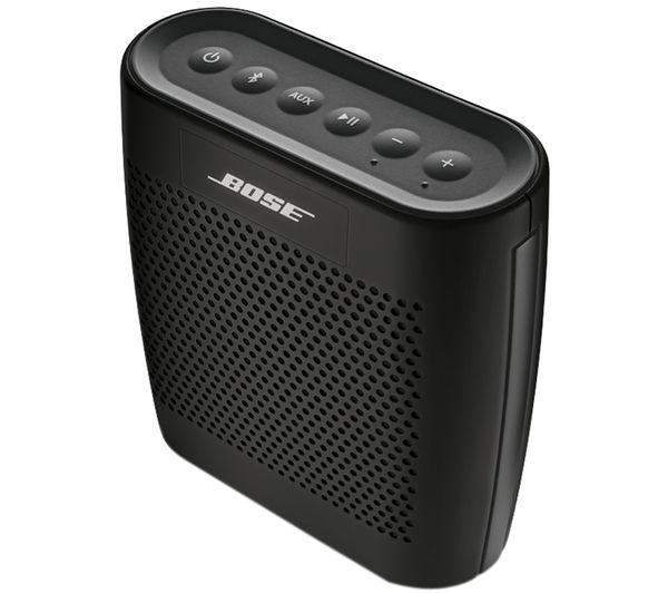 Buy BOSE SoundLink Colour Portable Wireless Speaker - Black | Free ...
