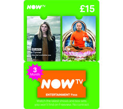 NOW TV Entertainment Pass - 3 Month