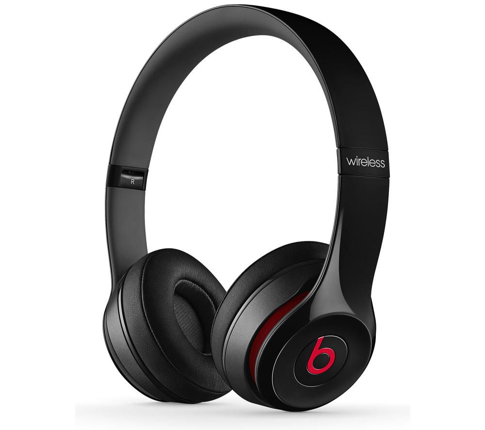 BEATS Solo 2 Wireless Bluetooth Headphones - Black
