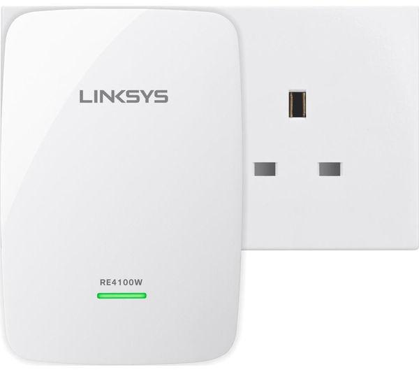 Linksys RE4100W N600 Dual Band