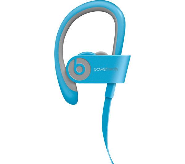 Image of BEATS Powerbeats² Wireless Bluetooth Headphones - Light Blue