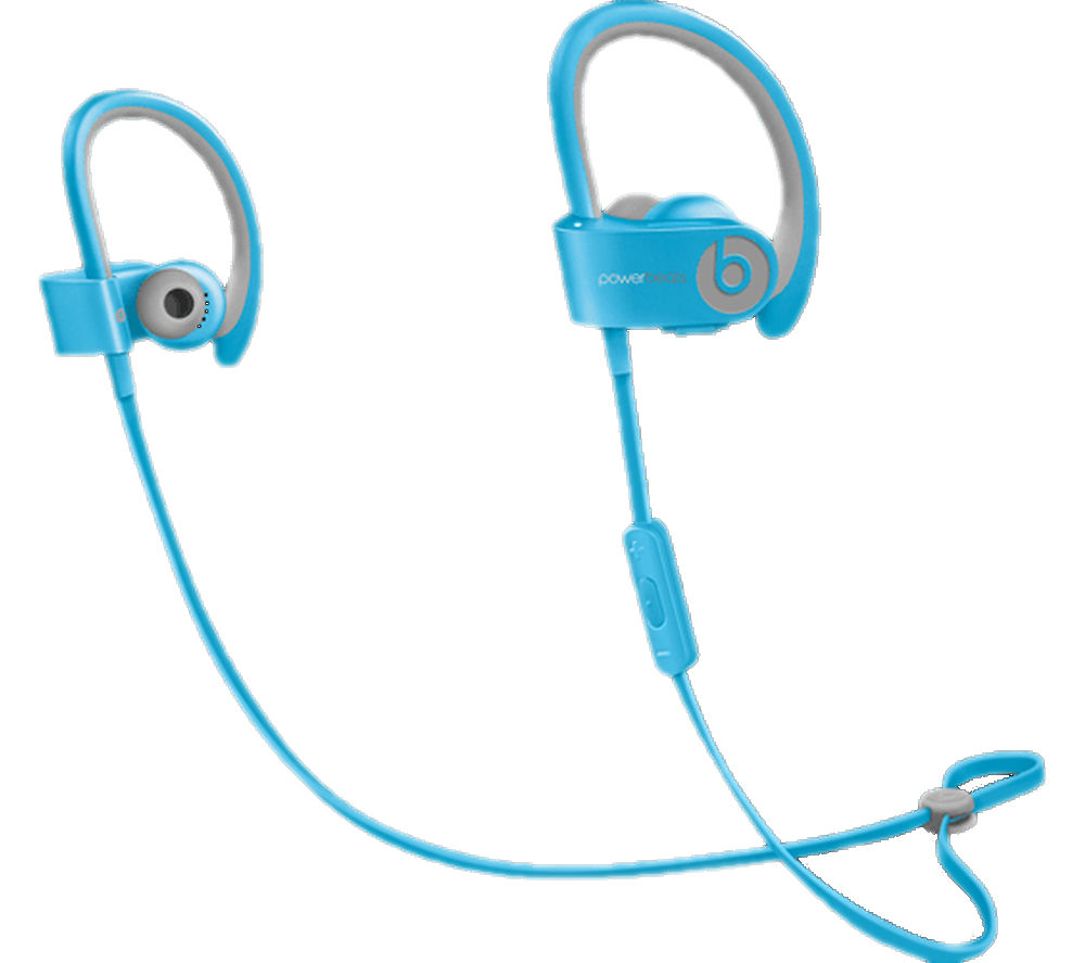 Powerbeats² Wireless Bluetooth Headphones - Light Blue