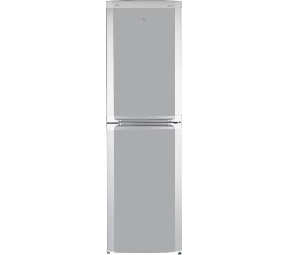 Beko CF5834APS Fridge Freezer  Silver Silver