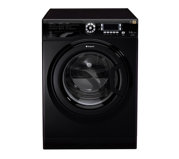 Hotpoint WDUD9640K 6kg Dry Washer Dryer (Black)