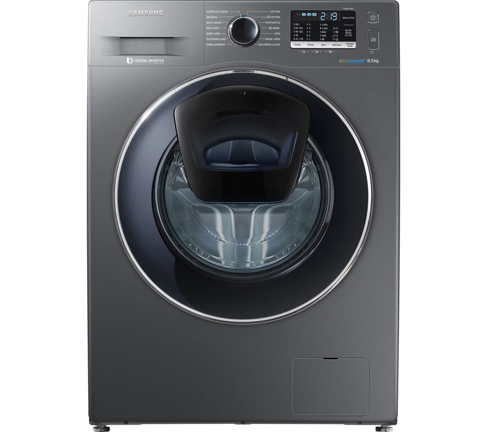 Samsung Washing Machine ~ Buy samsung addwash ww k ux washing machine graphite