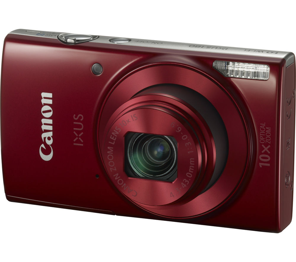 CANON IXUS 180 Compact Camera - Red
