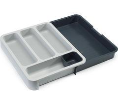 JOSEPH JOSEPH DrawerStore Cutlery Tray - Grey & White