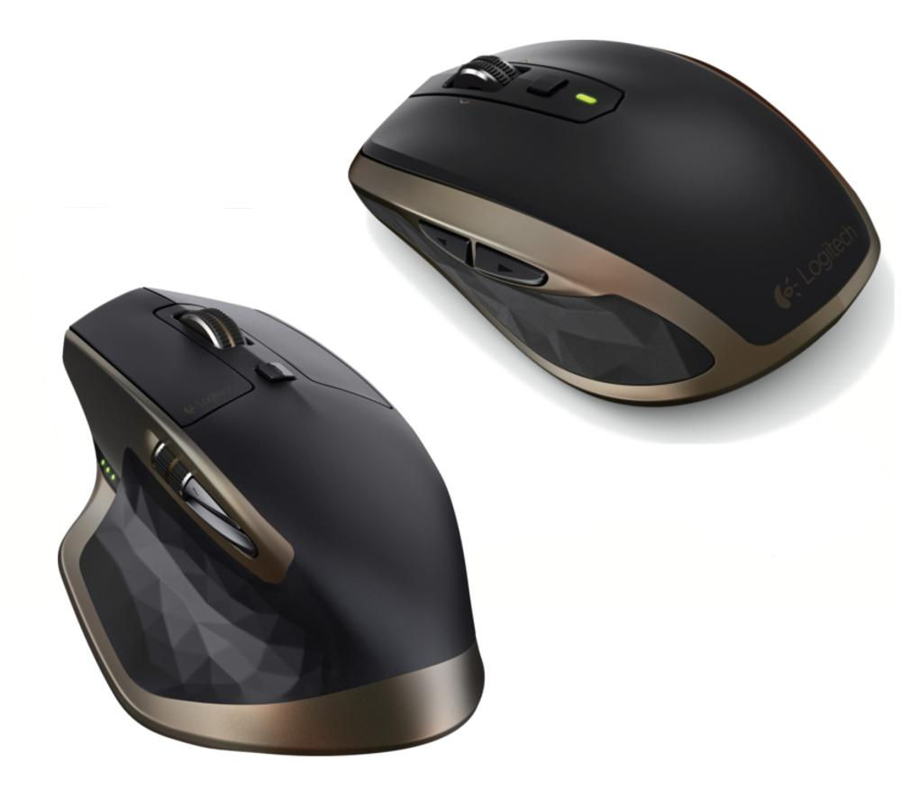 LOGITECH MX Master & MX Anywhere 2 Wireless Mouse Bundle - Black & Gold