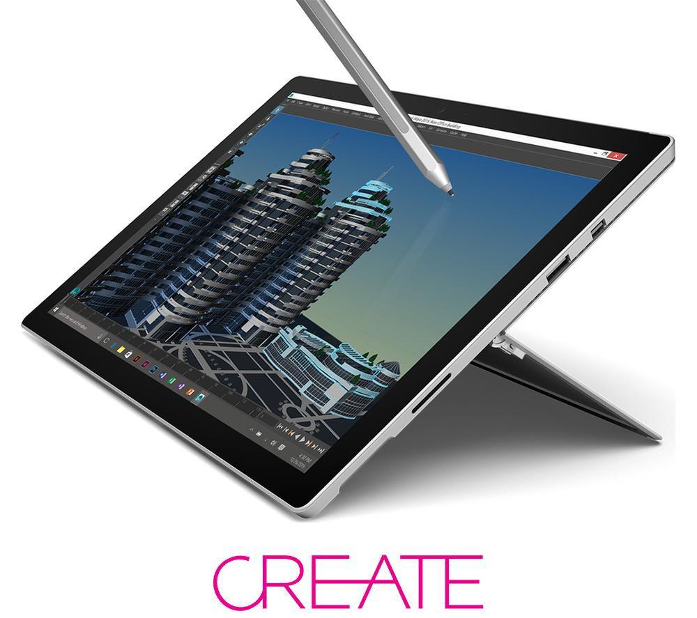 MICROSOFT Surface Pro 4 - 1 TB + Office 365 Personal + LiveSafe Unlimited 2017 - 1 year