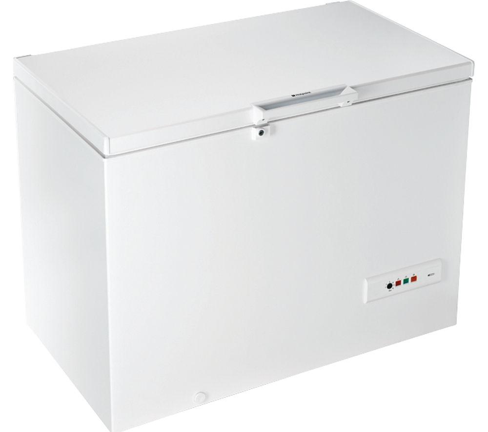 HOTPOINT  CS1A300H Chest Freezer  White White