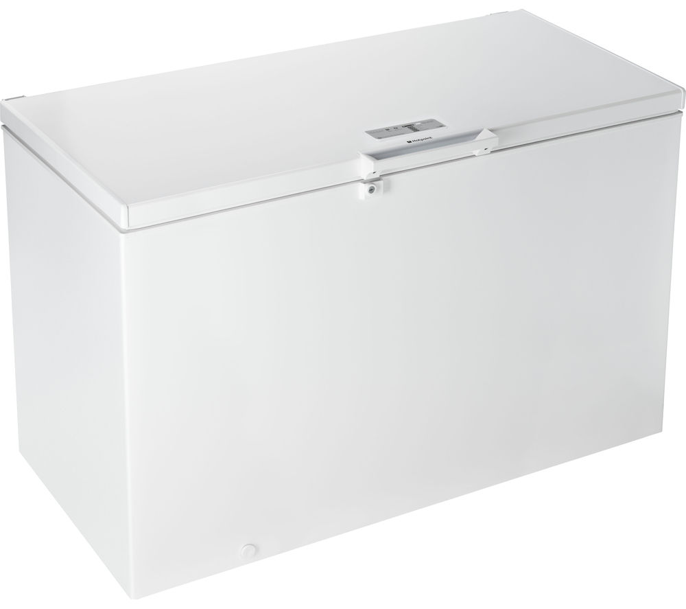 HOTPOINT  CS1A 400 FMH Chest Freezer  White White