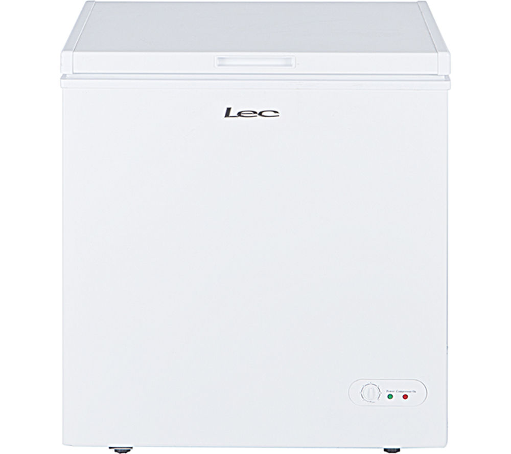 LEC  CF150L Chest Freezer  White White