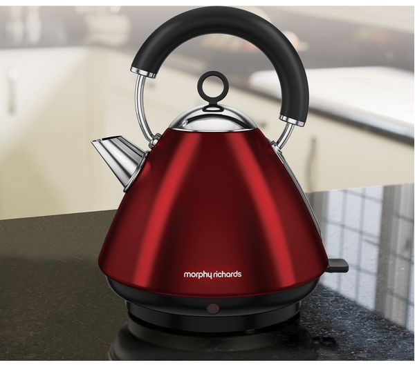 Morphy Richards Kettle: Buy MORPHY RICHARDS Accents 102029 Traditional Kettle - Red