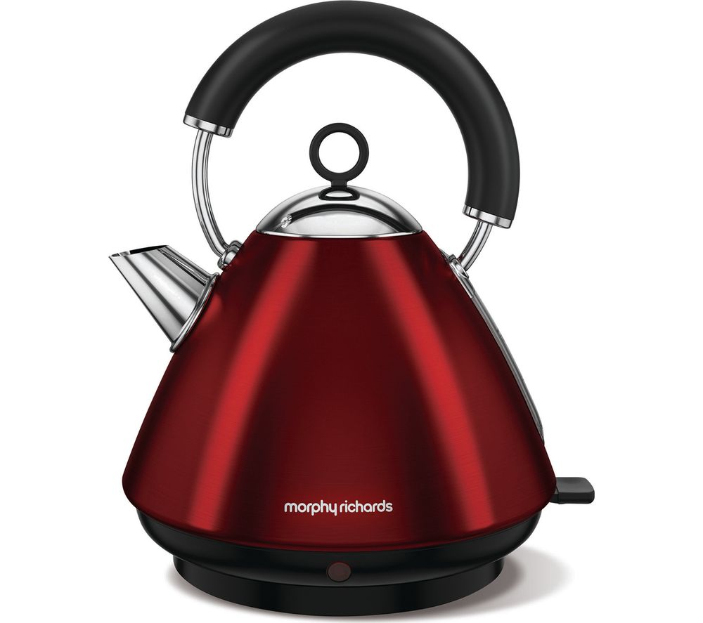 MORPHY RICHARDS  Accents 102029 Traditional Kettle  Red Red