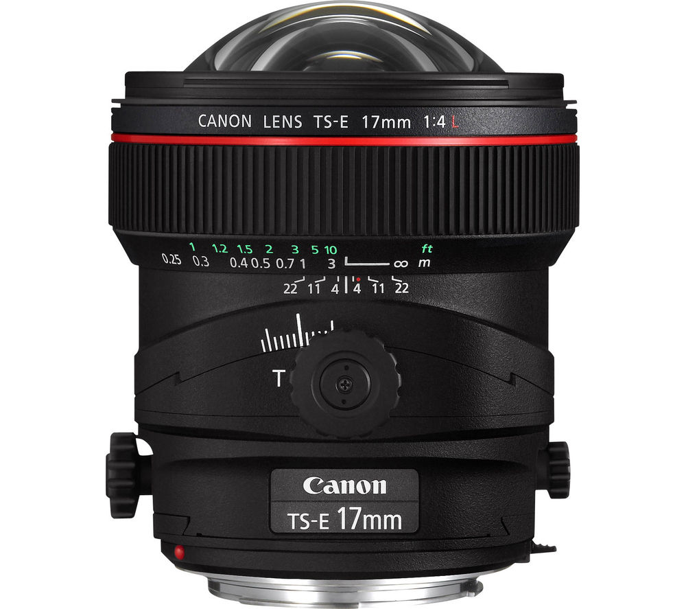 CANON TS-E 17 mm f/4.0 L Tilt-shift Lens
