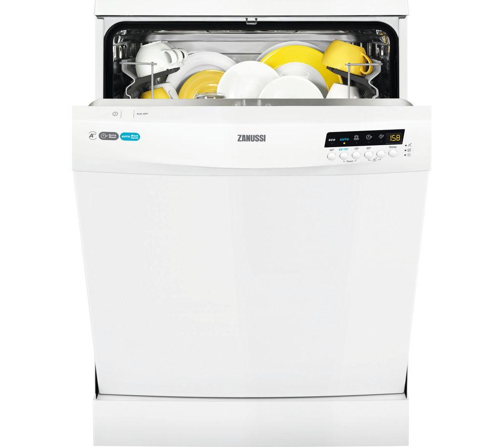 ZANUSSI  ZDF26011WA Fullsize Dishwasher  White White